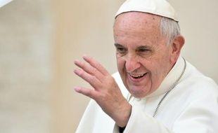 Le pape François à Rome le 14 octobre 2015