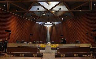 La salle du tribunal, à Lille