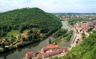 Vue de Besançon de la citadelle.