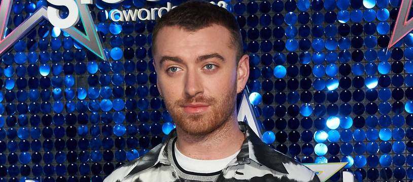 Le chanteur Sam Smith
