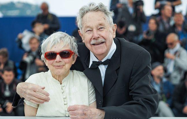 Nicole et Félix Le Garrec qui ont réalisé le film Plogoff, des pierres contre des fusils, ici à Cannes en 2019.