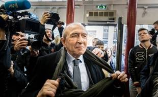 Gérard Collomb, candidat LREM à la métropole de Lyon.