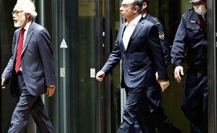 Carlos Ghosn à Tokyo, le 25 avril 2019.