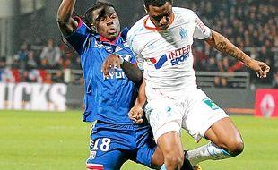 Bafé Gomis et Nicolas N'Koulou.