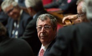 Patrick Balkany à l'Assemblée nationale le 31 janvier 2017.