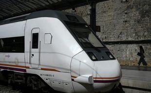 Un TGV de la compagnie espagnole Renfe à Madrid, le 5 septembre 2019.