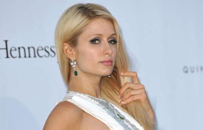 Paris Hilton à Cannes, le 24 mai 2012.