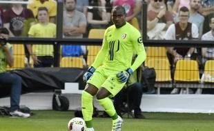 Le gardien de but lillois, Vincent Enyeama,  contre Metz, le 13 août 2016.