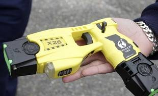 Un Taser. Illustration.
