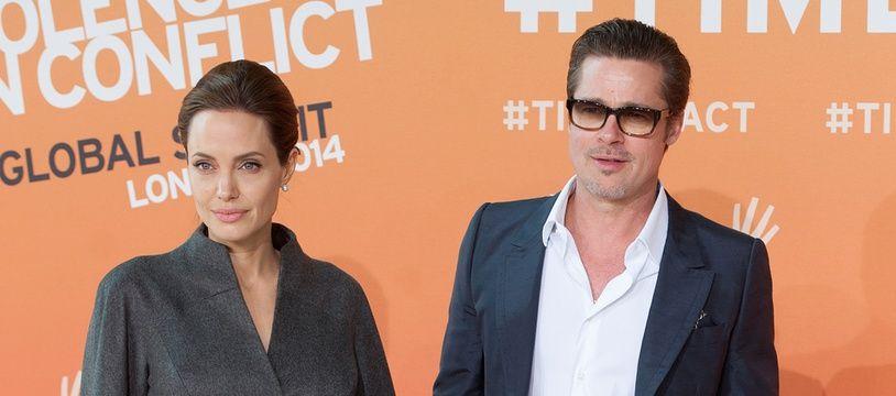 Angelina Jolie et Brad Pitt, au temps du bonheur