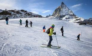 Les domaines skiables français sont les plus fréquentés du monde (illustration)
