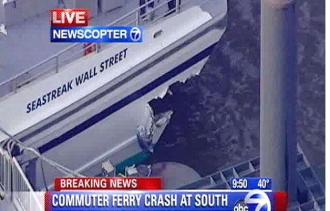 Accident de ferry à New York le 9 janvier 2012
