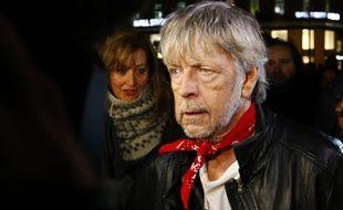 Le chanteur Renaud à Paris le 7 janvier 2016.