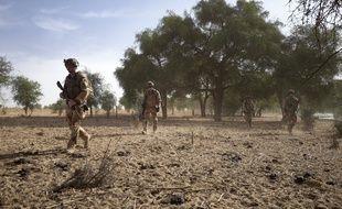 L'armée française au Burkina Faso, illustration