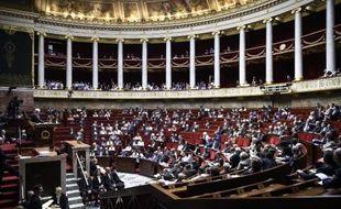 Les députés assistent à une session parlementaire le 23 juillet 2014 à l'Assemblée nationale