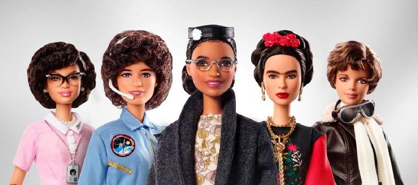 Les femmes misent à l'honneur dans la collection Barbie