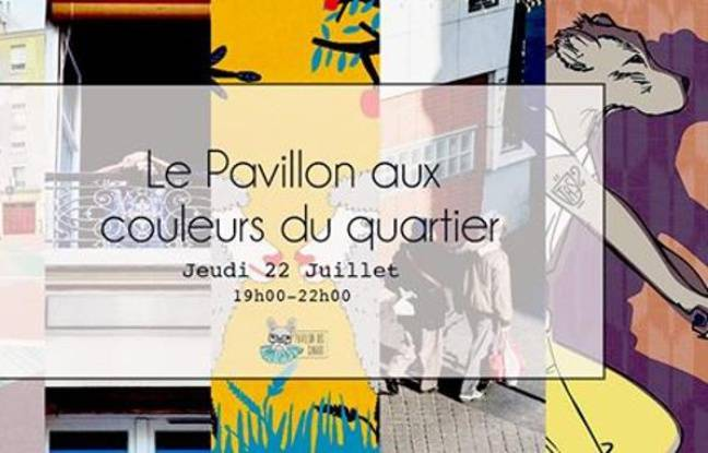 Visuel officiel de l'expo estivale du Pavillon des Canaux