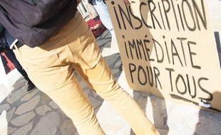 Ce mardi, à l'université de lettres de Montpellier.