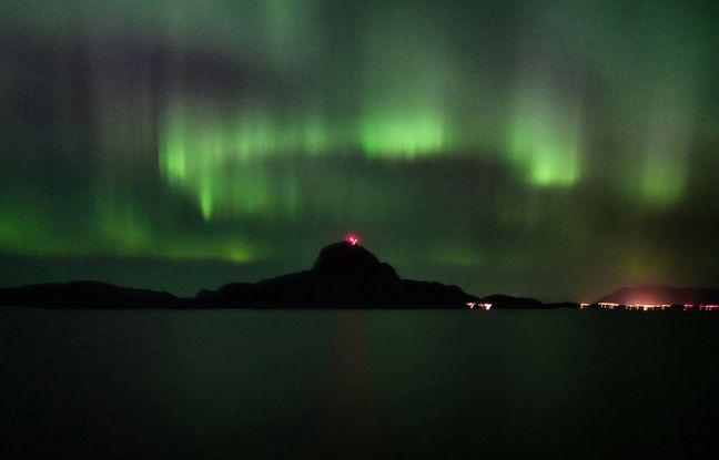 Passé le cercle polaire arctique, les aurores boréales entrent en scène.