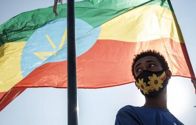 648x415 drapeau ethiopien illustration