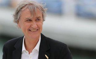 Le dessinateur Plantu sur le plateau de Canal+ à Cannes le 19 mai 2014