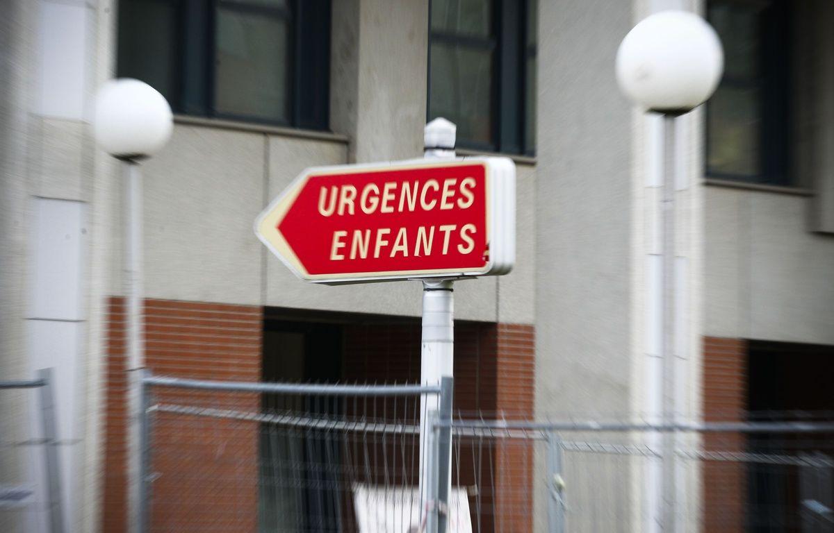 L'entrée des urgences pédiatriques de l'hôpital Purpan, à Toulouse, le 15 janvier 2014. – FRED SCHEIBER