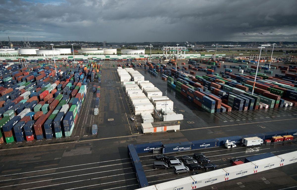 Vue du port du Havre (Seine-Maritime) – NICOLAS MESSYASZ/SIPA