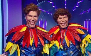 Les frères Bogdanoff étaient les perroquets de Mask Singer.
