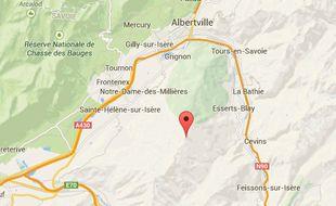 La Dent du Corbeau en Savoie.