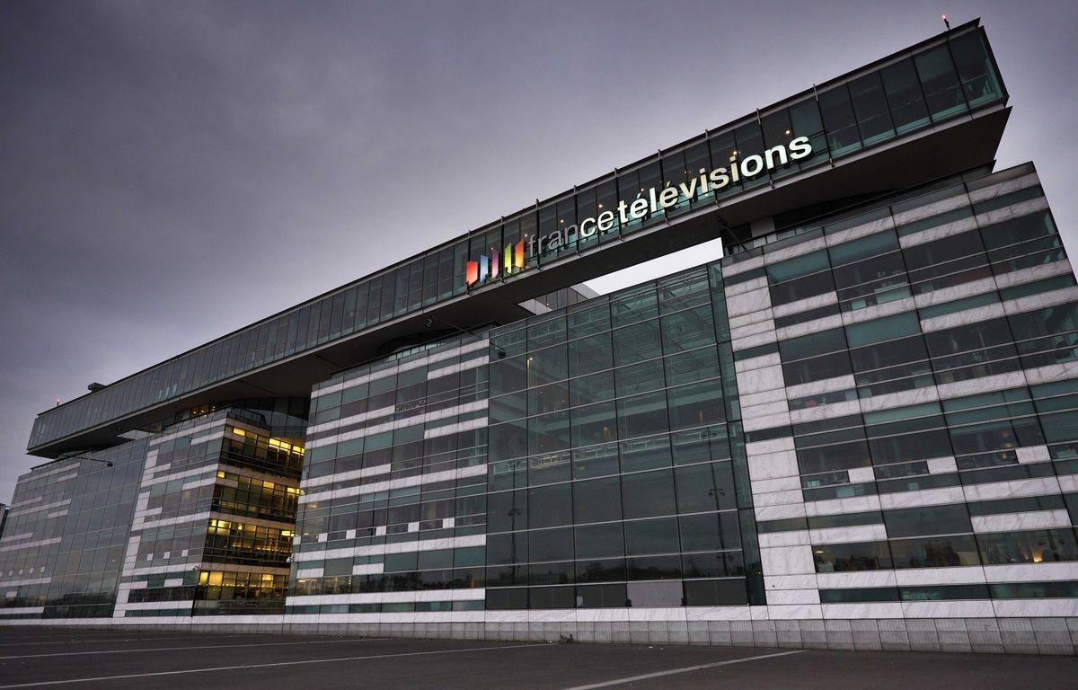 Le siège de France Télévision à Paris. – JPDN/SIPA