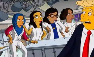 Donald Trump parodié par «Les Simpson»