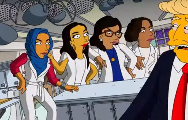 Les femmes démocrates prennent leur revanche sur Donald Trump dans ce clip des «Simpson»