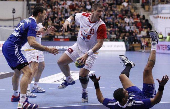 Espagnols et Français lors du mondial 2011, le 20 janvier 2011