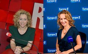 Les éditorialistes politique de RTLet Europe 1, Alba Ventura et Caroline Roux.