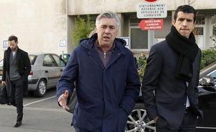 Carlo Ancelotti, le 29 décembre 2011 à Paris.