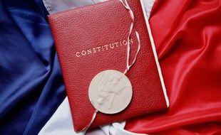 La Constitution française (illustration).