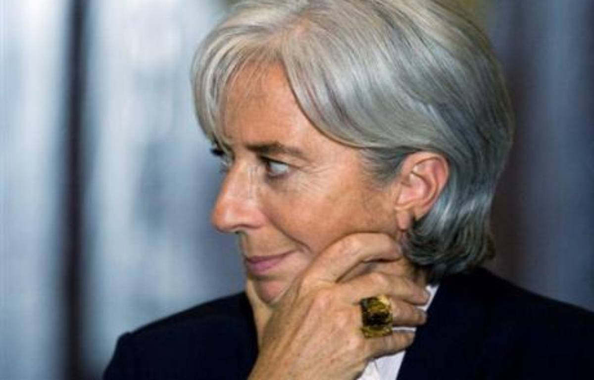 La ministre de l'Economie et de l'Emploi Christine Lagarde a confirmé dimanche soir sur France 2 le versement pour les bénéficiaires de minima sociaux (RMI, ASS) de la prime de Noël, d'un montant de 220 euros versés en novembre. – Alfredo Estrella AFP/Archives