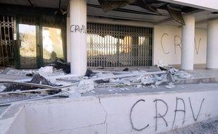 Les viticulteurs sont accusés d'avoir voulu agir avec le Crav, le comité régional d'action viticole. En 2005 (sur la photo), ce groupe avait fait exploser l'entrée de la Direction régionale de l'Agriculture et des Forets de l'Hérault.
