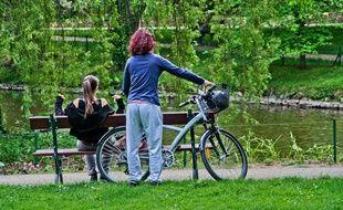 Faire du vélo est bon pour le corps et pour l'environnement.