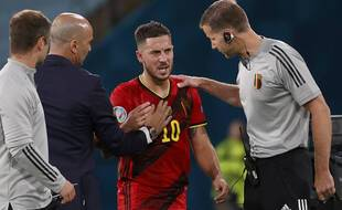 Eden Hazard pourrait manquer la fin de la compétition.