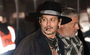 Johnny Depp a fait rire les enfants malades à Vancouver