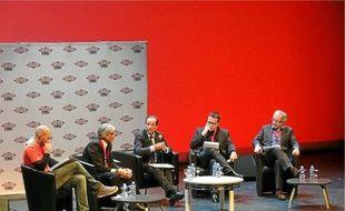 François Hollande a répondu aux questions de Nicolas Demorand et Maurice Szafran et du public.