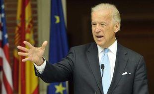 Le vice-président américain, Joe Biden, le 8 mai 2010.