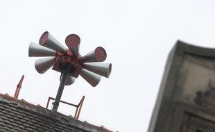 Des sirènes du Système d'alerte et d'information des populations (SAIP). (Archives)