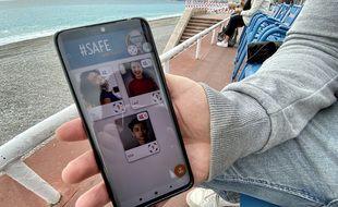 #Safewithfriends est une application à destination des parents inquiets sans utiliser la géolocalisation