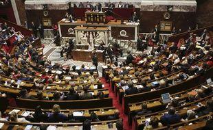 Illustration de l'Assemblée nationale, à Paris