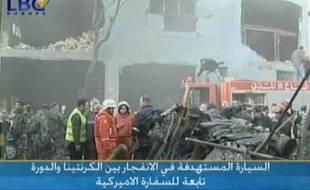 Trois personnes ont été tuées mardi dans un attentat à la voiture piégée contre une voiture de l'ambassade des Etats-Unis près de Beyrouth, a déclaré à l'AFP un responsable des services de sécurité, sans faire état de victimes américaines.