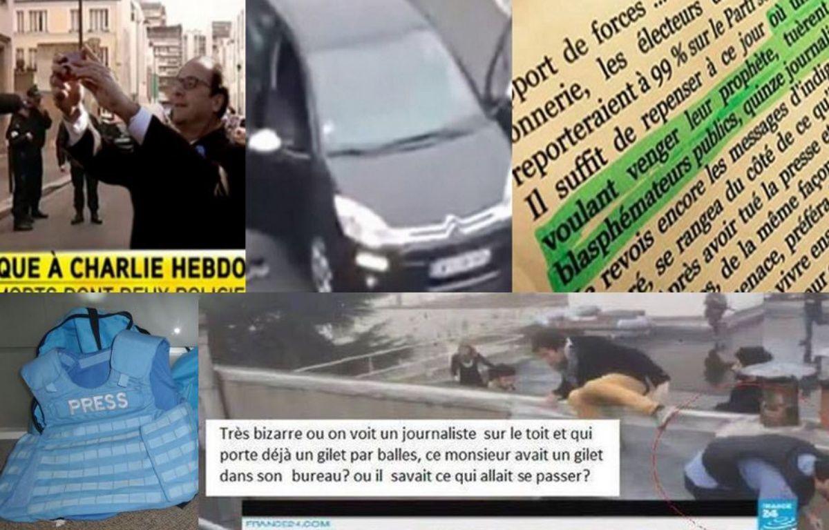 Après l'attaque terroriste pérpétrée contre Charlie Hebdo, de nombreux internautes diffusent de fausses informations. – 20Minutes