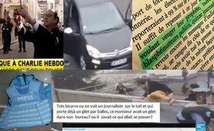 Après l'attaque terroriste pérpétrée contre Charlie Hebdo, de nombreux internautes diffusent de fausses informations.
