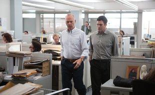 Michael Keaton et Mark Ruffalo dans Spotlight